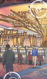 New smoke-free gaming area at Mohegan Sun Resort Casino.